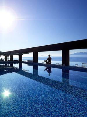 Infinity zwembaden: Griekenland, Michelangelo Resort & Spa