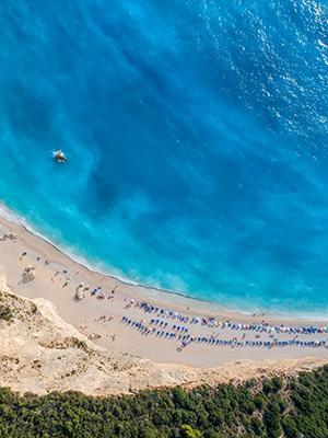 Mooiste stranden Griekenland: Lefkas, Pórto Katsíki