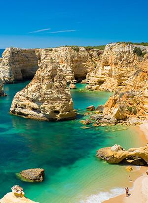 Mooiste stranden van Portugal: Praia da Marinha