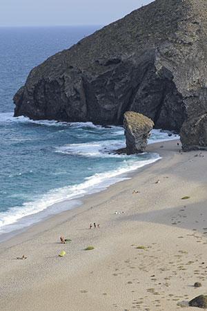 Mooiste stranden Spanje: Playa de los Muertos