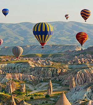 Mooiste vakantiebestemmingen voor een huwelijksaanzoek: Cappadocië
