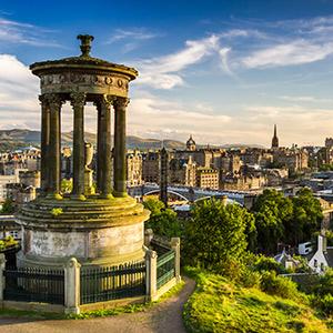 Mooiste vakantiebestemmingen voor een huwelijksaanzoek: Edinburgh