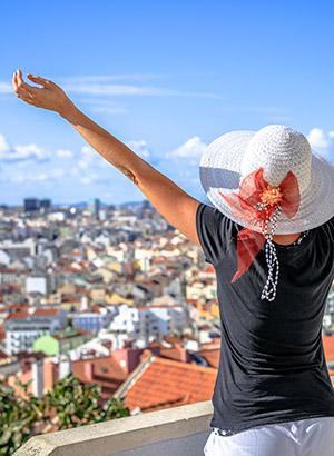 Doen in Lissabon - Uitzichtpunten