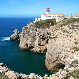 Cabo de São Vicente, het einde van de wereld
