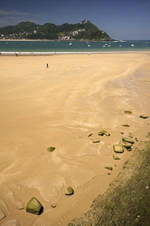 Mooiste stranden Spanje: Playa de la Concha