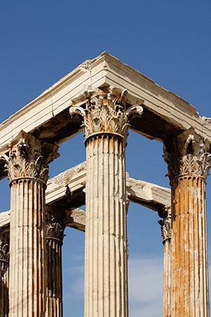 Stedentrip Athene: Olympieion