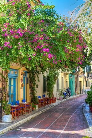 Stedentrip Athene: Plaka
