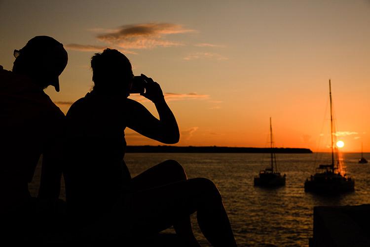 Tips reisfotografie: zonsondergang