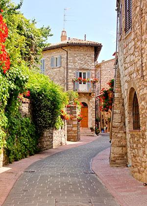 Umbrië het groene hart van Italië: Assisi