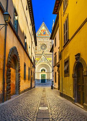 Umbrië het groene hart van Italië, Orvieto