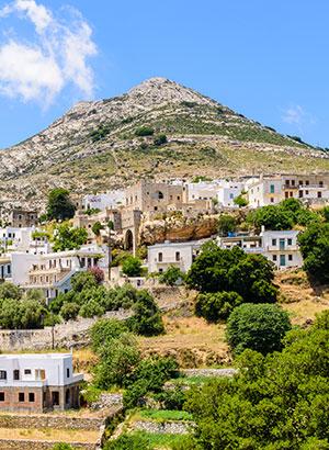 Vakantie Naxos, Cycladen
