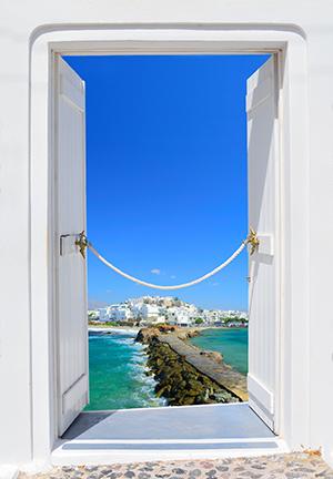 Vakantie Naxos-Stad