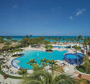 Zon januari, Hotel Riu Palace Antillas