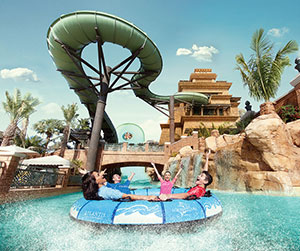 Aquaventure Waterpark Dubai: rivier
