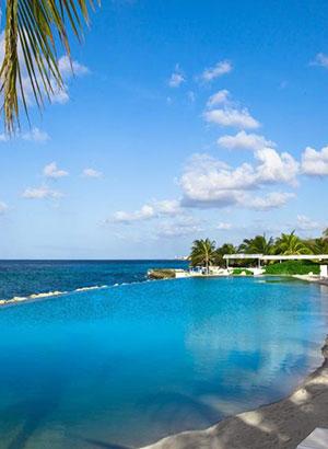 Infinity zwembaden: Curacao (Papagayo Beach Hotel)
