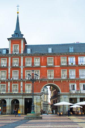 Bezienswaardigheden Madrid: Plaza Mayor