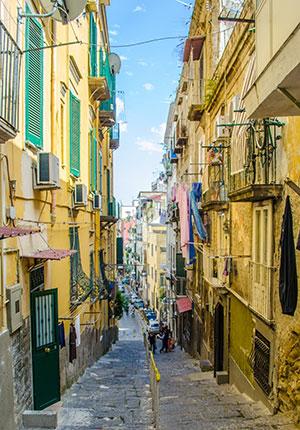 Italiaanse vakantiebestemmingen: Napels