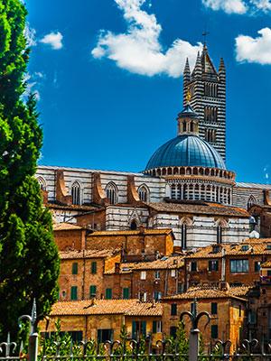 italiaanse vakantiebestemmingen: Siena