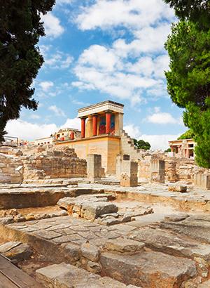 Kreta met kinderen: Knossos