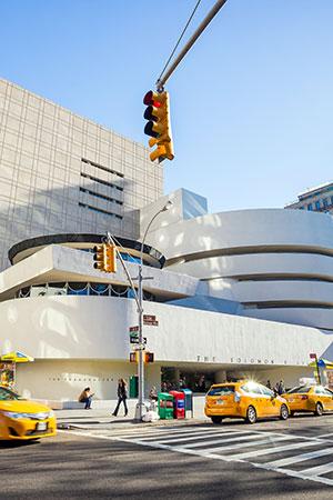 Meest gefotografeerde plekken ter wereld: Guggenheim Museum New York