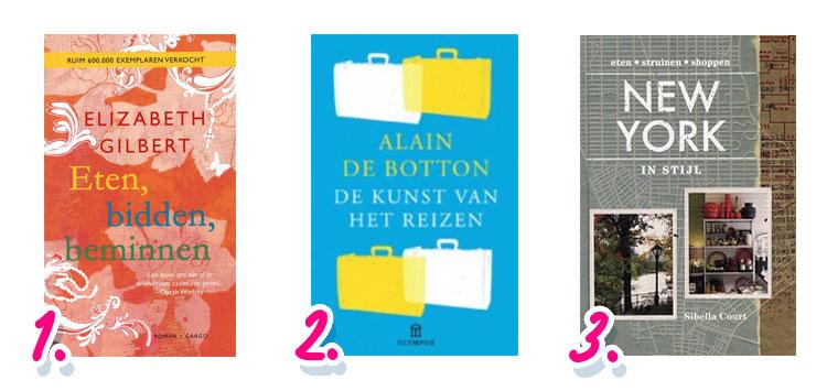 Nationale Boekenweek: favoriete reisbloggers