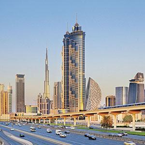 Record brekend Dubai: hoogste hotel