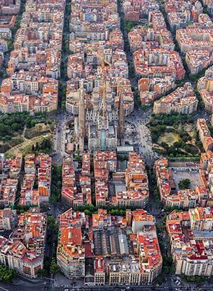 Sagrada Familía, Barcelona: L'Eixample