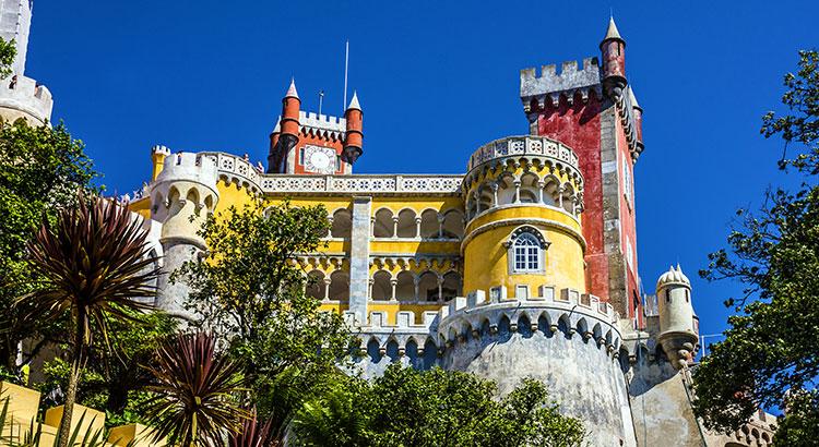 Sprookjesbestemming Sintra, Portugal