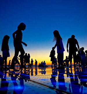 Zadar levendigheid
