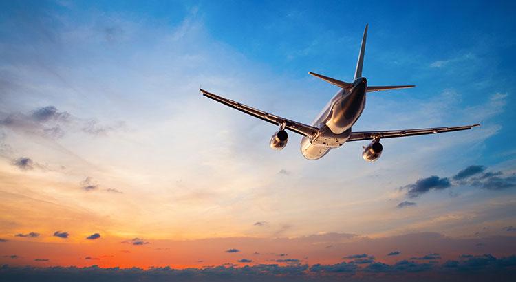 Anti verveeltips vliegtuig