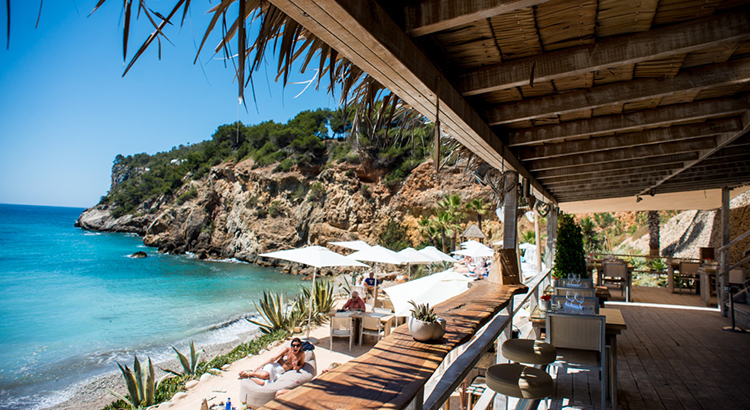 Beachclubs op Ibiza