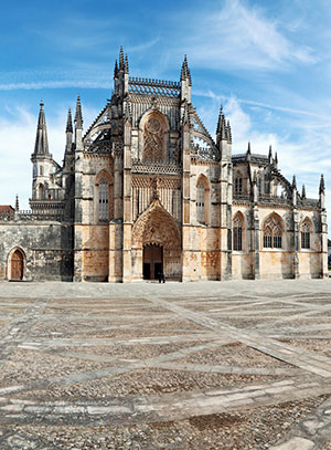 Costa de Prata: klooster van Batalha