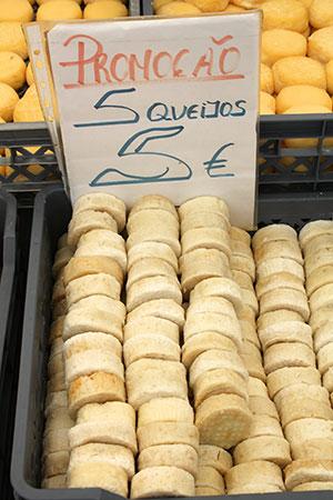 Costa de Prata: marktproducten