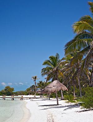 Eilanden Mexico; Isla Contoy