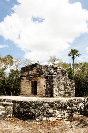 Eilanden Mexico: ruines van San Gervasio in Cozumel