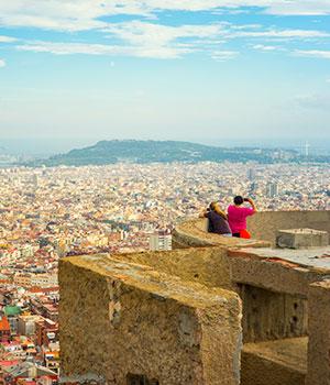 Gratis doen in Barcelona: uitzicht