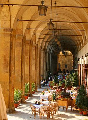 Hoogteputen Toscane culinair