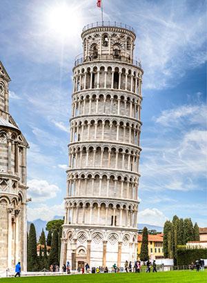 Hoogtepunten Toscane, toren van Pisa