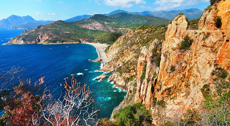 Minder bekende mediterrane eilanden: Corsica