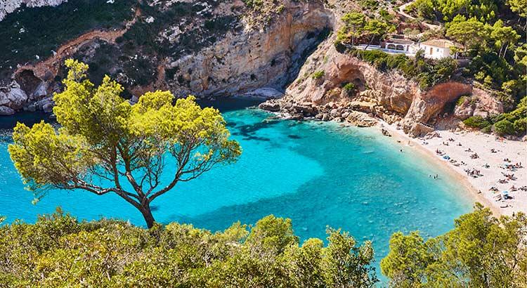 Mooiste stranden Spanje