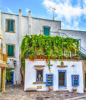 Otranto, middeleeuws dorp in Otranto