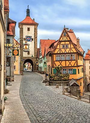 Hoogtepunten Duitsland: Rothenbur ob der Tauber