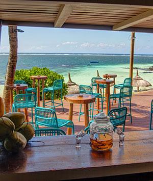 hotels mauritius: Solana Beach Bar