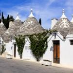 De duizenden trulli van Alberobello