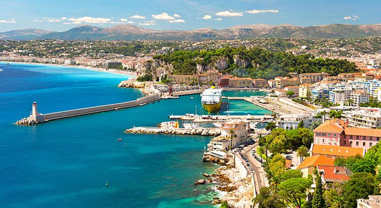Veelzijdige Franse badplaats Nice