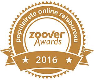 Zoover Awards 2016: populairste online reisbureau