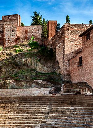 Bezienswaardigheden Málaga: Alcazaba