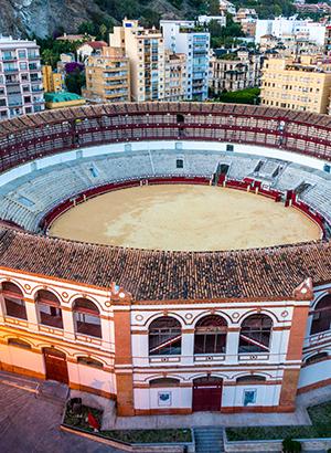Bezienswaardigheden Málaga: stierenarena