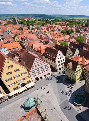 Rothenburg ob der Tauber: Marktplatz