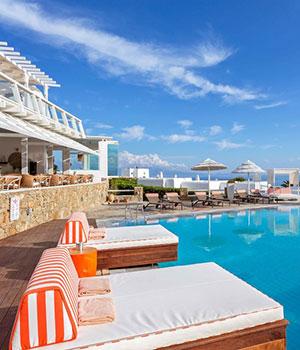 Vakantie Cycladen: Archipelagos Hotel, Mykonos